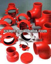 FM--UL ductile cast iron coupling for fire protection