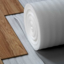 2mm 3mm EPE foam cheap laminate floor underlayment with aluminum foil