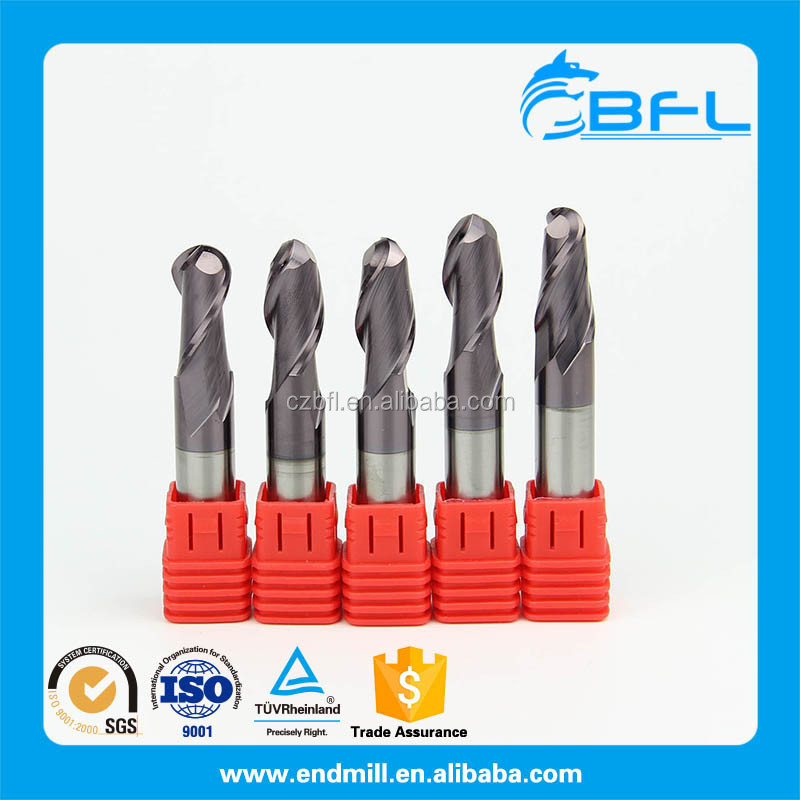 Solid carbide cnc milling cutter cutting tools from china