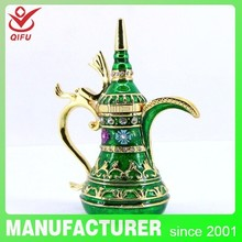 China Wholesale Multicoloured luxurious Home Decoration Rhinestone Aladdin Lamp Craft / Aladdin Trade Souvenir (QF3183)