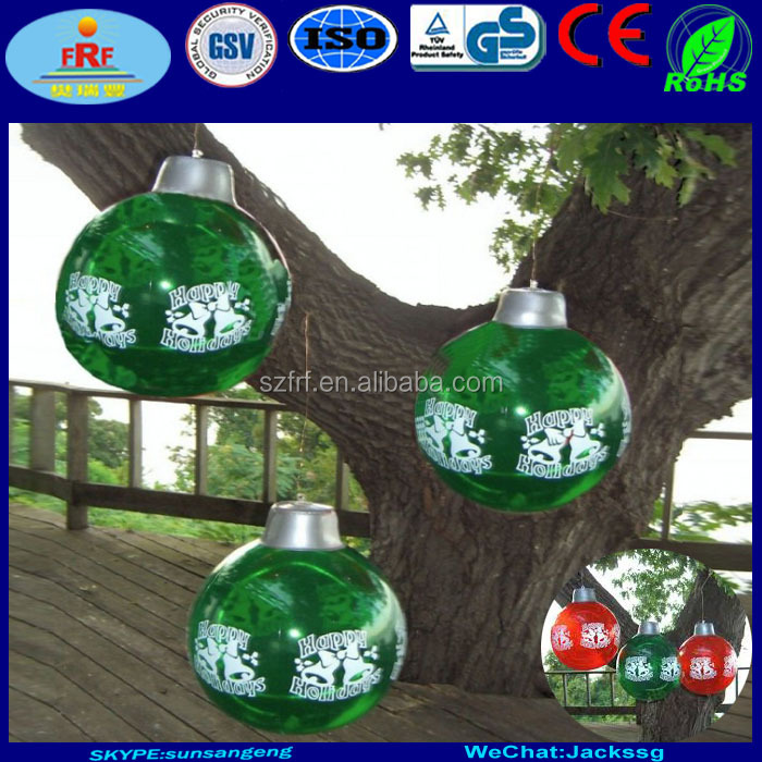 Inflatable Christmas Ornament Ball