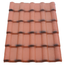 Synthetic resin ASA pvc plastic roof tile/eagle roof tile