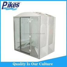 White acrylic hotel company wet sauna steam bath units room