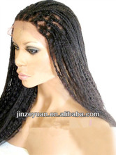 Best Selling 18Inch #1B African Braided Wig For Black Women
