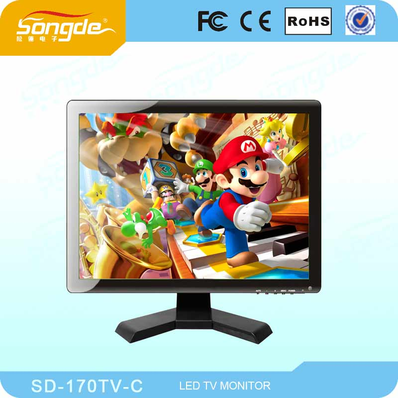 17 Inch LCD Monitor/LCD TV with CE / 17 TFT LCD Computer TV Monitor