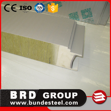 80kg/m3 Rock Wool Fireproof Insulation Acoustic Wall Panels