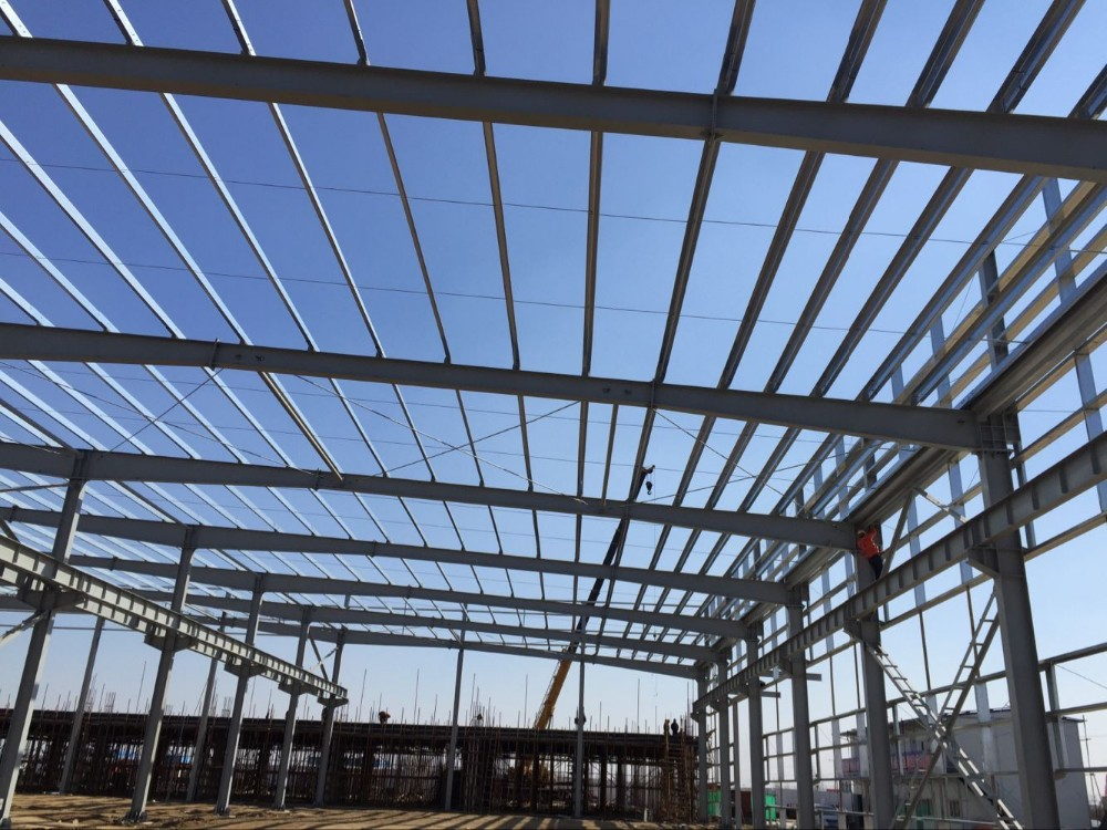 Good appearance steel structure warehouse/prefab home