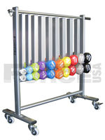 Force USA Vinyl Dumbbell Rack for Vinyl Dumbbells