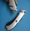 Soft Grip Trimming Knife with Safe Blade Retractor Feature