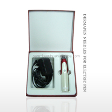 Cosmetic implement face lifting electric microneedle dermo pen EL011