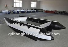 CE catamaran HH-P410 inflatable high speed boat