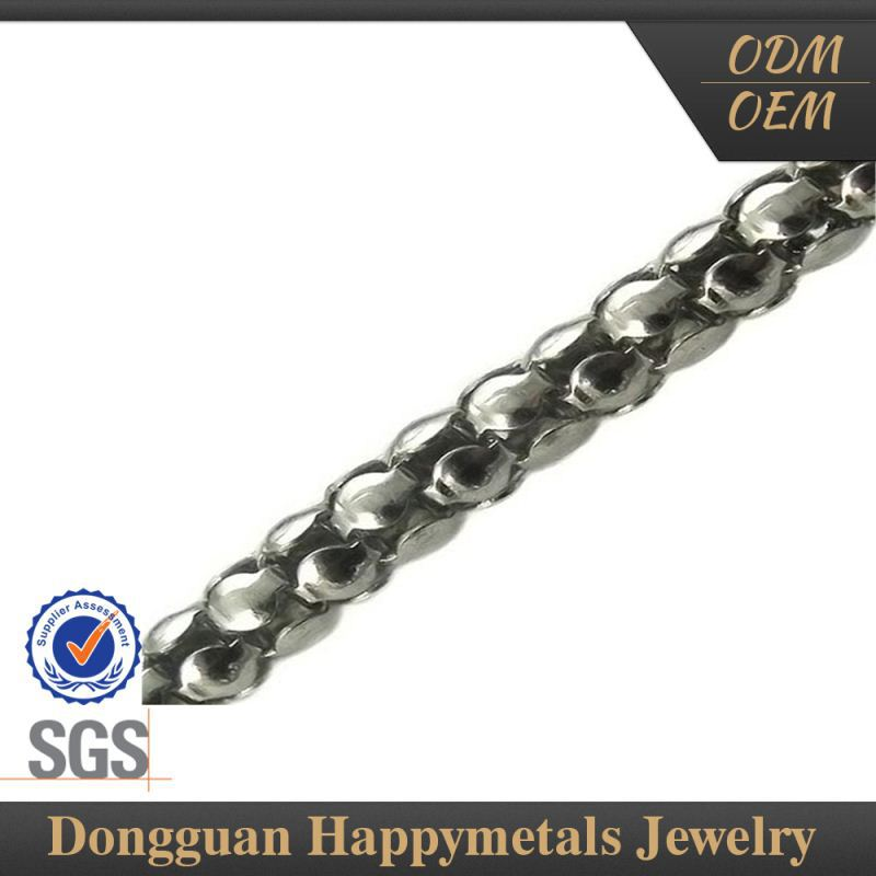 Fashion Design Pure Platinum Chains With Sgs Certification