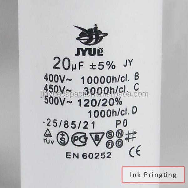 5uf Dimensionering Motor Run Condensator Cbb60 Condensator 250 Vac Condensatoren Product Id