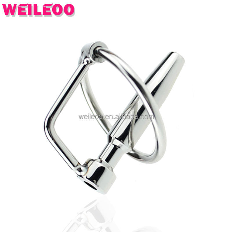 45*8mm mini size hollow stainless steel penis plug catheter with <strong>2</strong> <strong>o</strong> ring sounding sound male urethral dilatorsex toy for men