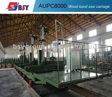 auto timber band saw with log carriage