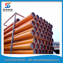 DN125 ST52 3m Concrete Pump Delivery Pipe For Putzmeister Pump