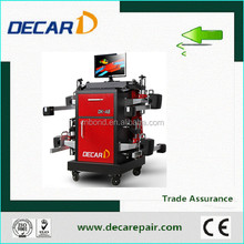 2015 hot sale China DECAR wheel aligner A8 CCD for car workshop