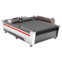 AOL cutting 다이 machine/auto feeding 칼 cutting machine 와 ccd