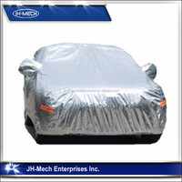 good quality aluminium foil Super UV and waterproof sun protection car covers