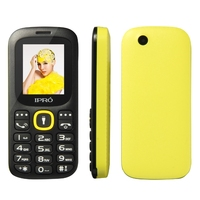 Factory price newest Ipro 1.77 inch feature phones gsm phone dual sim standby 800 mAh battery