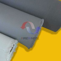Double sided polyurethane coated fiberglass insulation