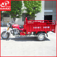 Benin Import Popular 150CC Motorcycles With Strong Lifting Cargo Box Three Wheel Changeable