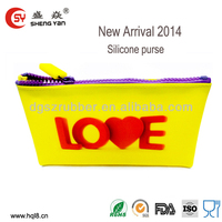 2014 new arrival silicone pisidia bags