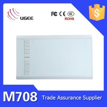 Ugee M708 10x6 inch active area tableta digital