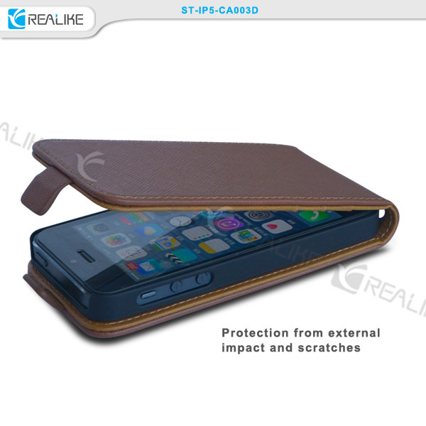 Special newest design leather case cover for apple iphone5 5s.detachable flip case for iphone 5 5s