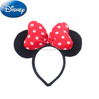 FAMA Audit cheap Fuzzy Wholesale China Factory custom promotional Cuddly hair accessory Minnie Head Bands