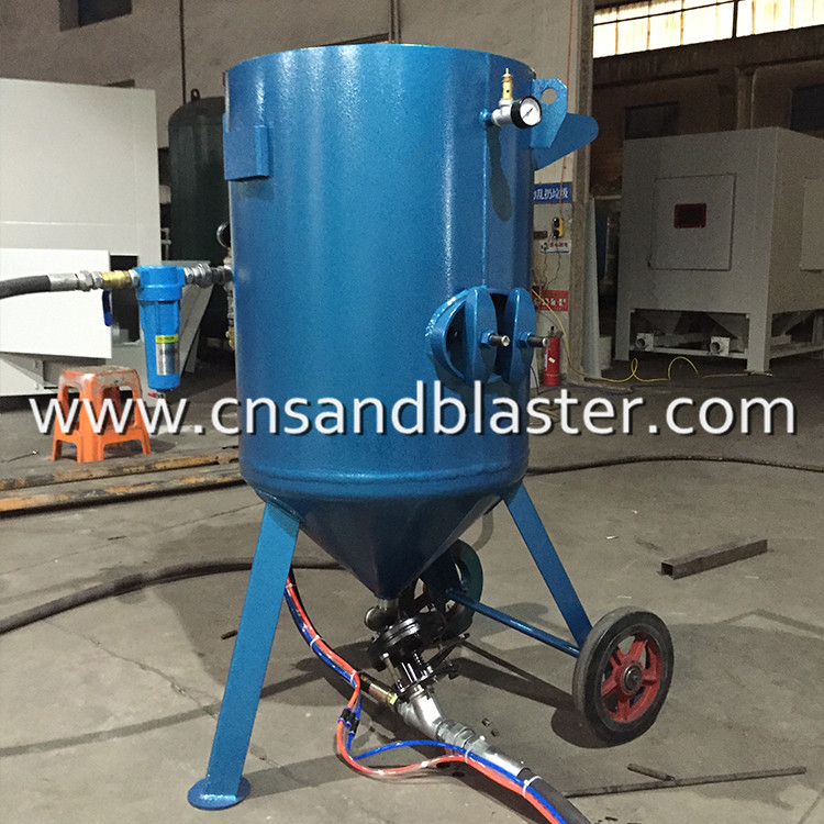 Siphon Feed Sandblaster portable sandblaster for sale