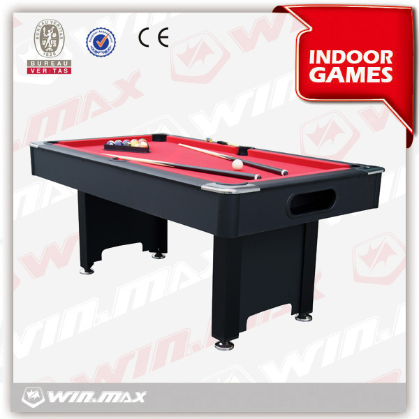 In stock with ball return top sell 6ft star billiard table