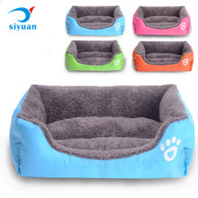 Luxury four color Memory Foam Pet Dog beds Non Slip Large Pet house