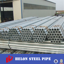 Anti-rust hot-dipped galvanized round Steel Pipe & tube for green house/fence post