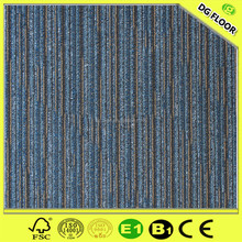 100% Waterproof Bathroom Modular Carpeting Tiles for Residential Use