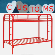 kids twin colorful metal bunk bed