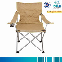 Camping chair with three-level