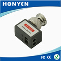 Right angle single channel passive video balun HY-101B