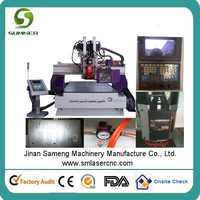 M25H furniture door window pantry photo frame 3d cnc router/wood cutting machine for solid wood