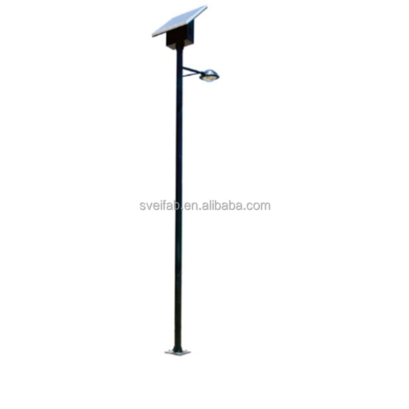 custom made stainless steel/aluminium street lighting pole