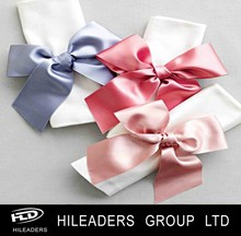 RB819 Hot sale 100%polyester mini ribbon bows for hair decoration