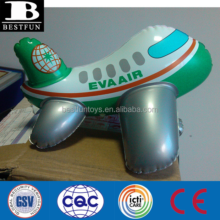 cheap customized pvc inflatable plane inflatable airplane model inflatable funny toys aircraft for children