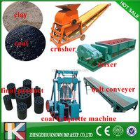 honeycomb coal/charcoal briquette extruder making machine/production line Manufactor