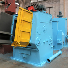 Q32 China Automatic Crawler Tumble Belt Shot Blasting Machine for Small Castings