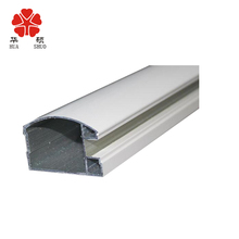 wholesale custom extruded office partition aluminum profiles