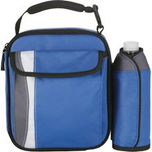 Handy Lunch Cooler with Detachable Insulated Bottle Wrap Cooler Bag Set