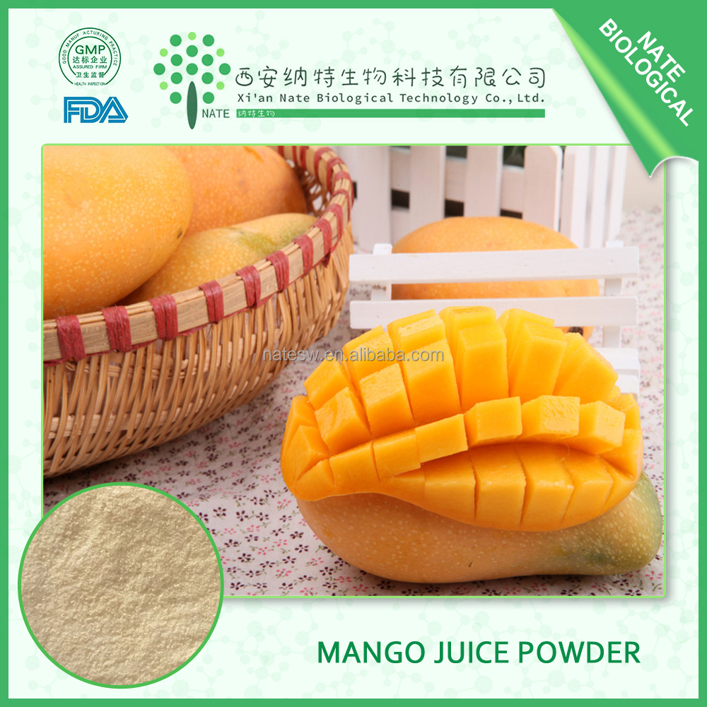 Hot Sale 100% Pure Natural Mango Juice Powder 95% Mango Leaves Extract