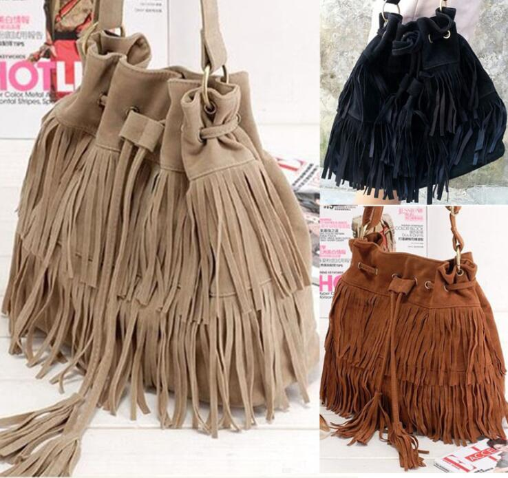 zm11184a Europe style vintage shoulder bags for women tassel handbags china wholesale ladies bags