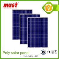 2016 poly solar module/150w 18V Poly Material Solar Panel Manufacturers in China