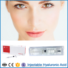 Ideal effect good price 2ml injectable hyaluronic lip filler